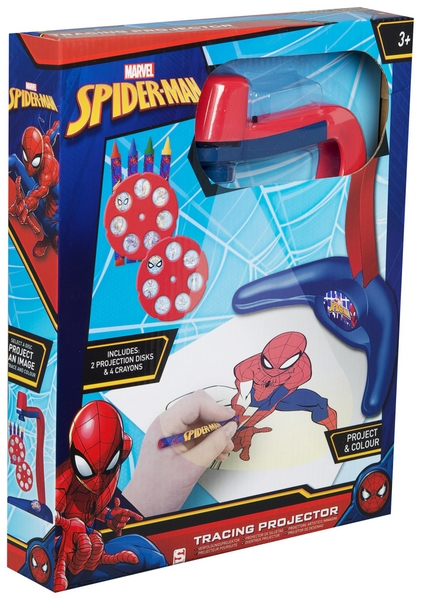 Projektor Na Kresleni S Predlohami Spiderman Easytoys Cz