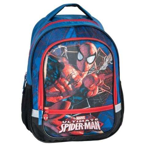 Školní batoh dvoukomorový Spiderman  c6491c2d57